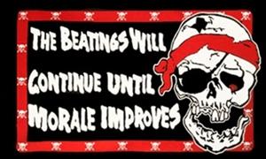 Billede af Pirate Beatings - Pirat Flag (90x150cm)