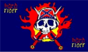 Image of   Hard Rider Flag (90x150cm)