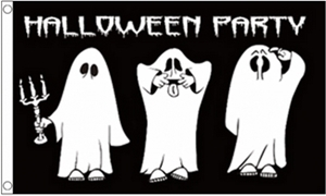 Image of   Halloween Party Flag (90x150cm)
