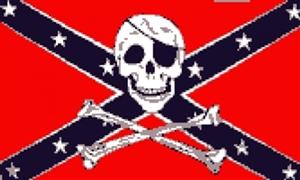 Billede af Rebel Pirate - Pirat Flag (90x150cm)