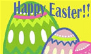 Image of   Happy Easter Flag (90x150cm)