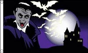 Image of   Halloween Bat Flag (90x150cm)