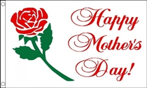 Image of   Happy Mothers Day Flag (90x150cm)