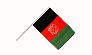 Image of Afghanistan Håndflag (15x22cm)