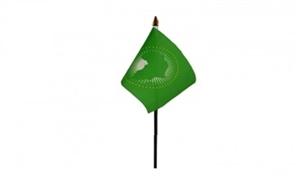 Image of Afrikanske Union Håndflag (10x15cm)