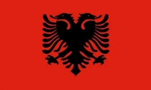 Image of   Albanien Flag (60x90cm)