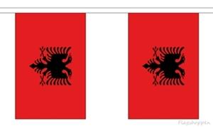 Image of   Albanien Guirlander 9m (30 flag)