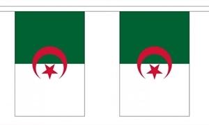 Image of   Algeriet Guirlander 3m (10 flag)