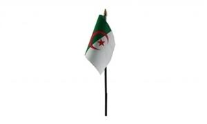 Image of Algeriet Håndflag (10x15cm)