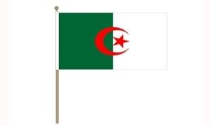 Image of   Algeriet Håndflag (30x45cm)