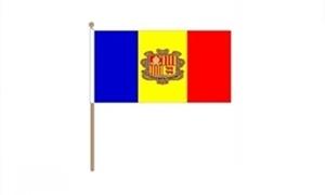Image of Andorra Håndflag (30x45cm)