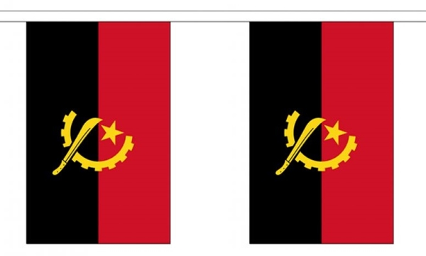 Image of   Angola Guirlander 3m (10 flag)