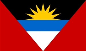 Image of   Antigua og Barbuda Flag (90x150cm)