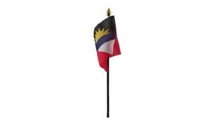 Image of   Antigua og Barbuda Håndflag (10x15cm)