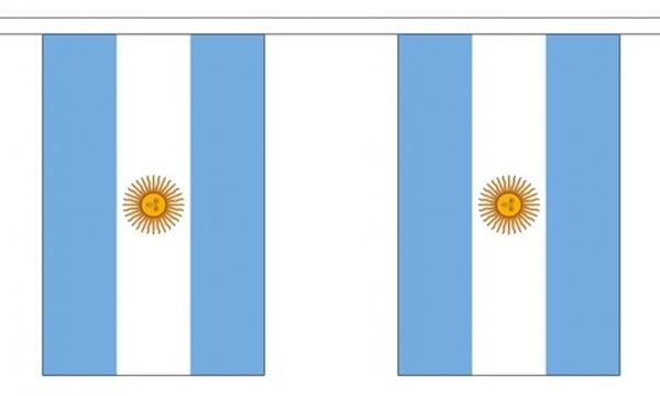 Image of   Argentina Guirlander 3m (10 flag)