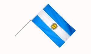 Image of   Argentina Håndflag (15x22cm)