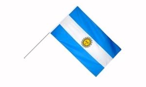 Image of   Argentina Håndholdt Papirflag (20x27cm)