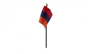 Image of   Armenien Håndflag (10x15cm)
