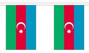 Image of   Aserbajdsjan Guirlander 3m (10 flag)