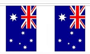Image of   Australien Guirlander 9m (30 flag)