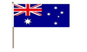 Image of   Australien Håndflag (30x45cm)