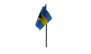 Image of   Bahamas Håndflag (10x15cm)