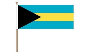 Image of   Bahamas Håndflag (30x45cm)