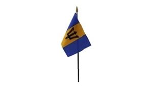 Image of   Barbados Håndflag (10x15cm)