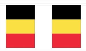 Image of   Belgien Guirlander 9m (30 flag)