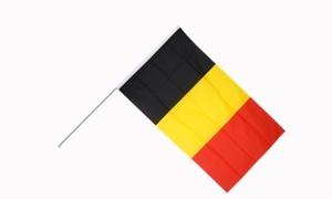 Image of   Belgien Håndflag (15x22cm)