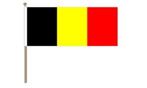 Image of   Belgien Håndflag (30x45cm)