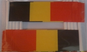 Image of   Belgien Kageflag (30x48mm)