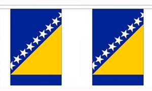 Image of   Bosnien-Hercegovina Guirlander 3m (10 flag)