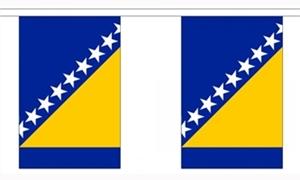 Image of   Bosnien-Hercegovina Guirlander 9m (30 flag)