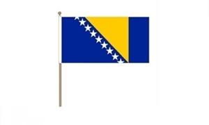 Image of   Bosnien-Hercegovina Håndflag (30x45cm)