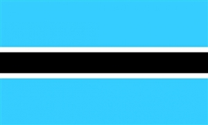 Image of   Botswana Flag (90x150cm)