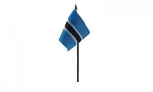 Image of   Botswana Håndflag (10x15cm)
