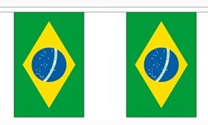 Image of   Brasilien Guirlander 3m (10 flag)