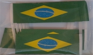 Image of   Brasilien Kageflag (30x48mm)