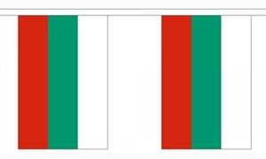 Image of   Bulgarien Guirlander 3m (10 flag)