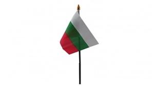 Image of   Bulgarien Håndflag (10x15cm)