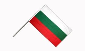 Image of   Bulgarien Håndflag (15x22cm)