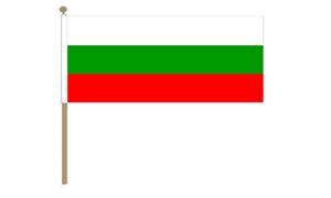 Image of   Bulgarien Håndflag (30x45cm)