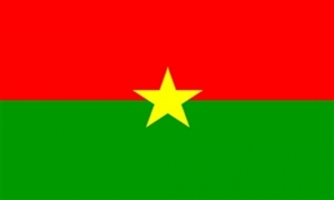 Image of   Burkina Faso Flag (90x150cm)