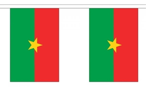 Image of   Burkina Faso Guirlander 3m (10 flag)