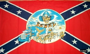 Image of   Rebel Buggy Flag (90x150cm)