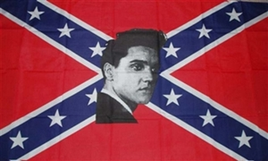 Image of   Rebel Elvis Flag (90x150cm)