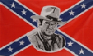Image of   Rebel John Wayne Flag (90x150cm)