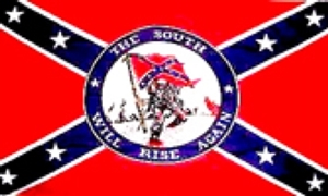 Image of   Rebel South Will Rise Flag (90x150cm)