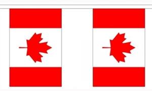 Image of   Canada Guirlander 9m (30 flag)